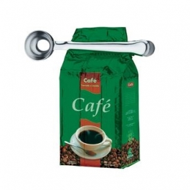 Colher De Café Com Prendedor Em Inox